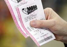 New York Mega Millions Ticket