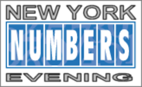 New York Numbers Evening Frequency Chart for the Latest 100 Draws