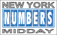 New York Numbers Midday winning numbers search