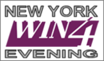 New York Win 4 Evening Frequency Chart for the Latest 100 Draws