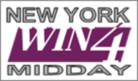 New York Win 4 Midday recent winning numbers